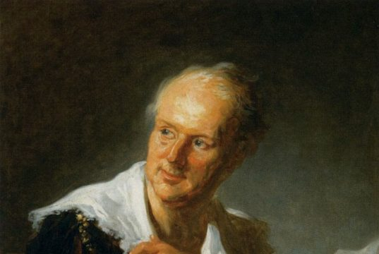 denis diderot was famous for collecting essays for what book